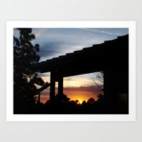 cabin Art Prints featuring Cabin by D. Gopal
