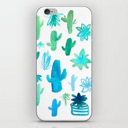 Live Simply Cactus iPhone Skin