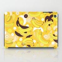 banana iPad Cases featuring Banana by Ornaart