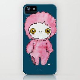 Moonkhin 1 (pink tranquil) iPhone Case
