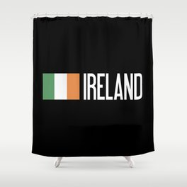 Ireland: Irish Flag & Ireland Shower Curtain