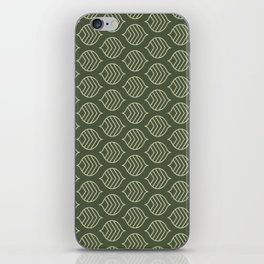 Olive Scales iPhone Skin