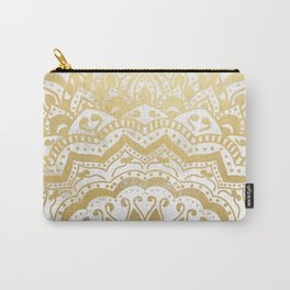 GOLD ORION JEWEL MANDALA Carry-All Pouch