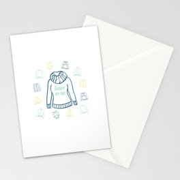 Knitters Are Tops - Nautical Stationery Cards