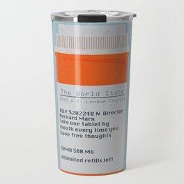Brave New World Prescription Travel Mug