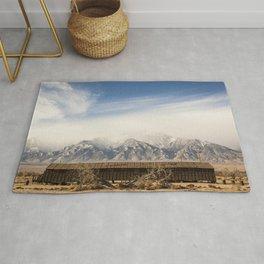 Manzanar Internment Camp, Highway 395, Independence, CA Rug