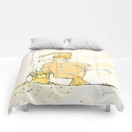 Pijiama Man Comforters