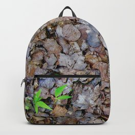 Last Years Fallen Foliage Backpack