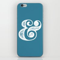 ampersand iPhone & iPod Skins featuring Ampersand by AndyGD