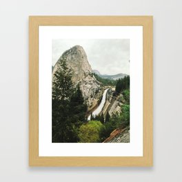 Nevada Falls Framed Art Print