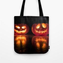 Halloween Jack-o'-lantern Tote Bag