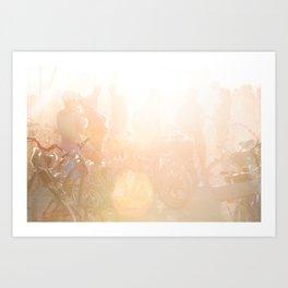 Playa Sunrise Art Print