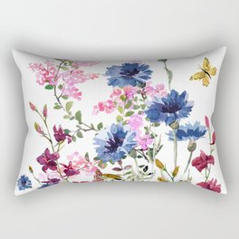 Wildflowers IV Rectangular Pillow