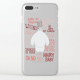 Hello, I'm Baymax Clear iPhone Case