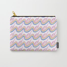Rainbow Narwhals Carry-All Pouch