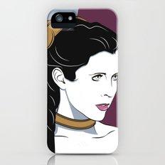 80s Princess Leia Slave Girl iPhone SE Slim Case