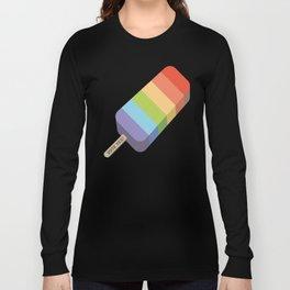 Ice Cream - Vote Yes! (Angled) Long Sleeve T-shirt