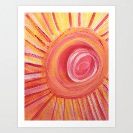 Set the Tone, Sunshine Art Print