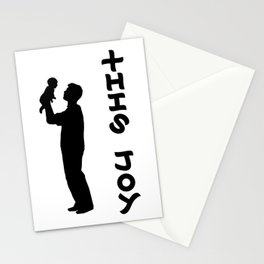 THIS JOY ambigram (turn your head 90 degrees :) Stationery Cards