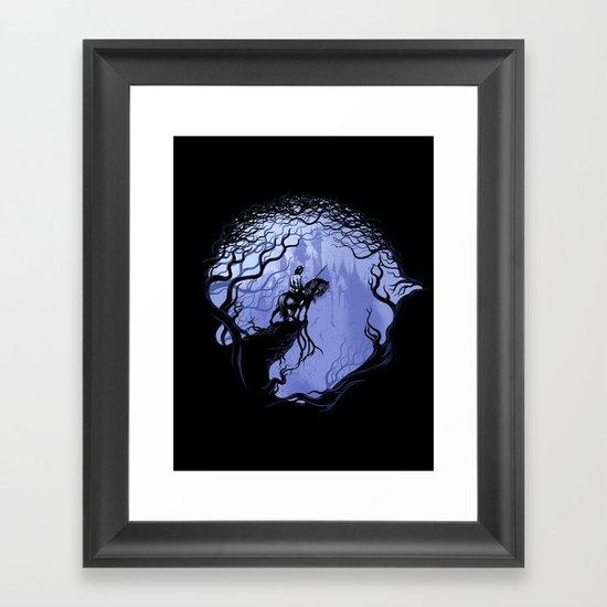 war horse Framed Art Print