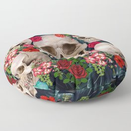 tropical scary  Floor Pillow