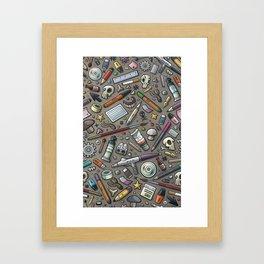 Graphic lab Framed Art Print