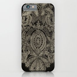 Vintage Lace iPhone Case