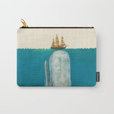 The Whale - colour option Carry-All Pouch