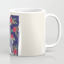 The Empire State of Flowers Coffee Mug
