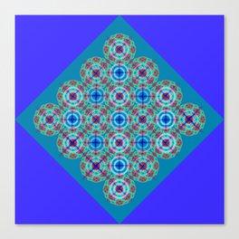 Prelude to Metatron (Indigo) Canvas Print