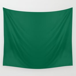 Green Bamboo Solid Color Block Wall Tapestry