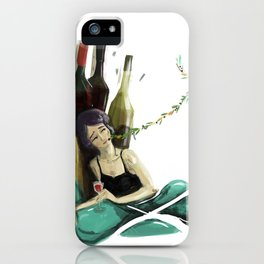 Abigal iPhone Case