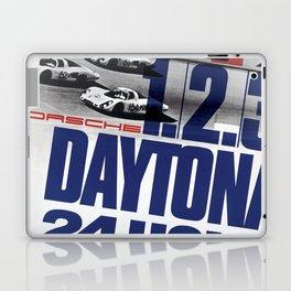 Vintage 1960s Daytona Race Poster Laptop & iPad Skin