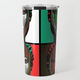 Oni, four ways Travel Mug