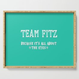 Team Fitz Serving Tray