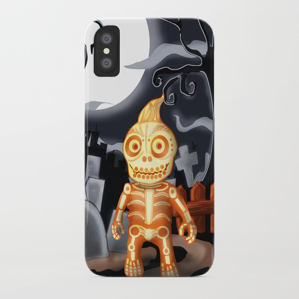 Skelton The Chubby Skeleton Phone Case by Rene_l PCS7842482