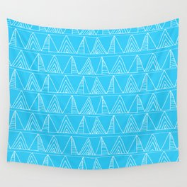Triangles- Simple Triangle Pattern for hot summer days - Mix & Match Wall Tapestry