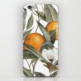 Orange Blossom iPhone Skin