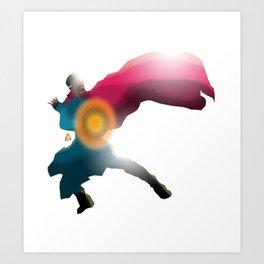 Doctor Strange minimalist Splash Poster Art Print