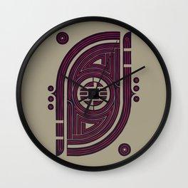 Neon Flux Wall Clock