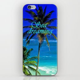 SEA DREAMS iPhone Skin