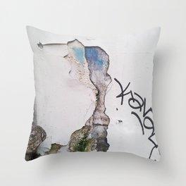 Blue Kavale Throw Pillow