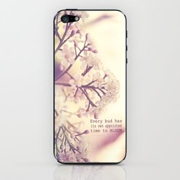 Appointed Bloom iPhone Skin