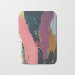 Anywhere: a bold, colorful abstract piece Bath Mat