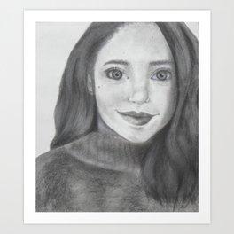 who r u Art Print