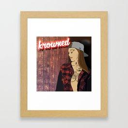 N E O N  T A T T O O S Framed Art Print