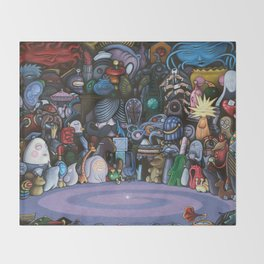 The God Particle Throw Blanket