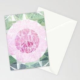 Watermelon Geometery Stationery Cards