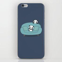 Kawaii Cute Pandas iPhone Skin