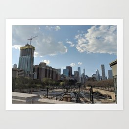 Industrious City Art Print